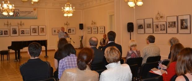 """Výstava """"Setkání na Parnasu. Poezie Stříbrného století na portrétech"""" v RSVK v Praze"""