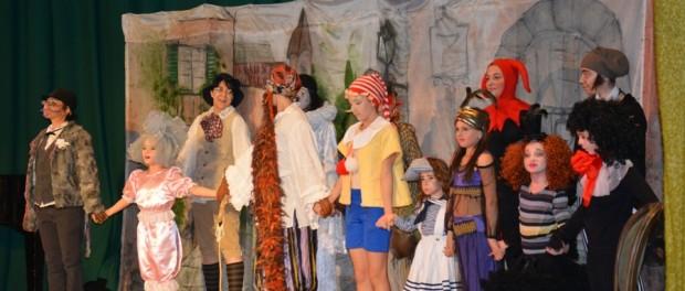 Детский музыкальный спектакль «Буратино» в РЦНК в Праге