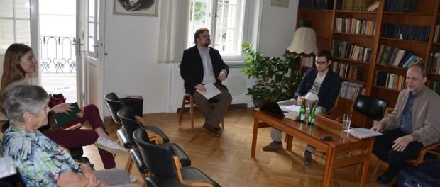 Kulatý stůl na památku ruského myslitele  P.I. Novgorodceva v RSVK v Praze