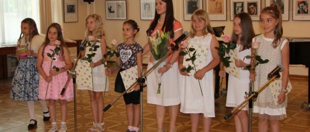 Концерт детской музыкальной студии «Кантабиле» в РЦНК в Праге