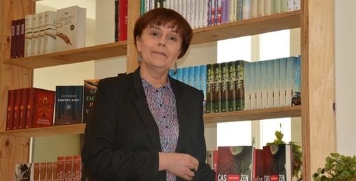 Rozhovor s ruskou spisovatelkou Jelenou Čižovovou u přiležitosti prezentace vydání překladu jejího románu Čas zen (nakladatelství Host)