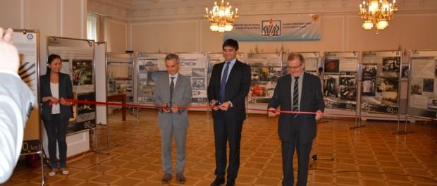Выставка к 60-летию чешско-российского сотрудничества в атомной энергетике в РЦНК в Праге