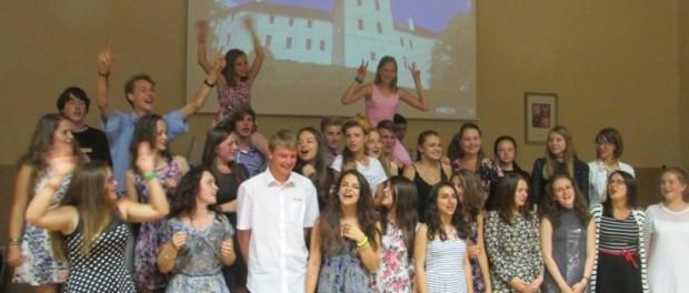 První turnus 10. mezinárodní letní školy byl ukončen  včeském městě Březnice