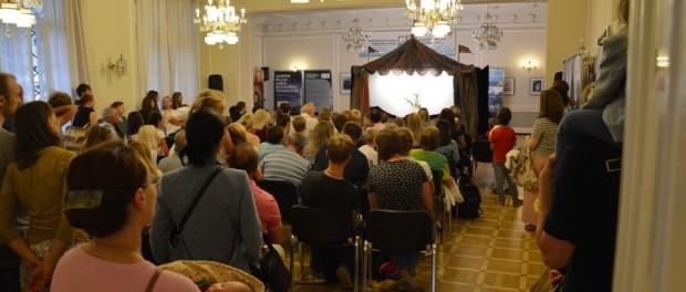 Спектакль  «Странный цирк Марка Шагала» в РЦНК в Праге