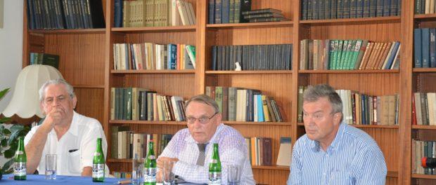 Velvyslanec České republiky v Čínské lidové republice  se setkal se členy Asociace absolventů ruských (sovětských) vysokých škol v RSVK v Praze