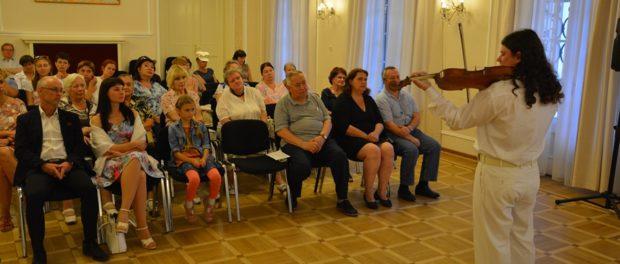 Концерт молодого альтиста Ивана Нумерова в РЦНК в Праге