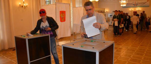 В Праге прошли выборы в Государственную Думу Федерального Собрания Российской Федерации VII созыва