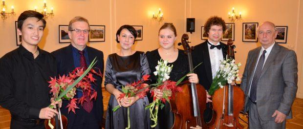 Премьера проекта «Молодые музыканты – послы мира» в РЦНК в Праге