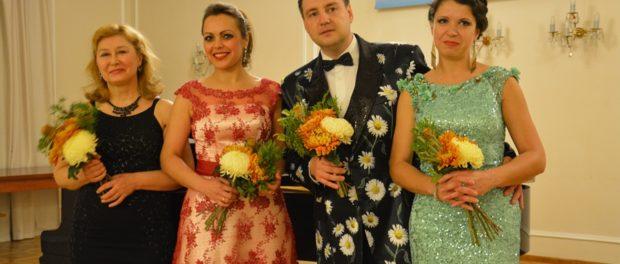 Vystoupení sólistů Voroněžského  státního operního a baletního divadla v RSVK v Praze