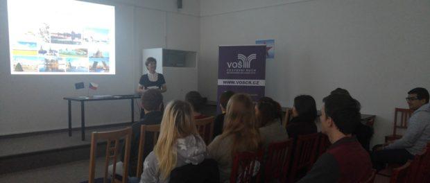 Презентация российского образования для студентов Колледжа туризма и международных торговых отношений в Праге