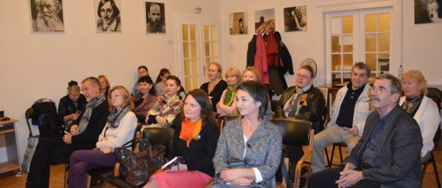 Творческий вечер членов Союза русскоязычных писателей Чехии в РЦНК в Праге