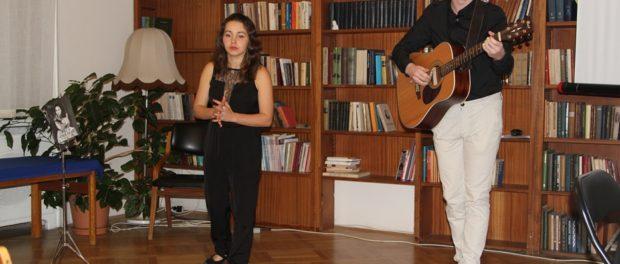 Umělecký večer básnířky Darji Taker  v RSVK v Praze