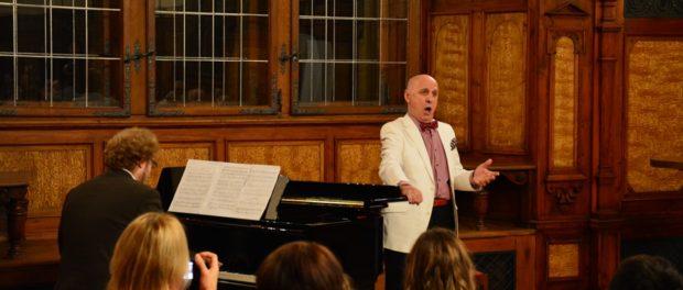 Концерт к 45-летию РЦНК в Праге в чешском замке Пругонице