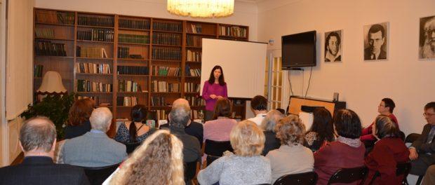 Писательница Анна Матвеева встретилась с читателями в РЦНК в Праге