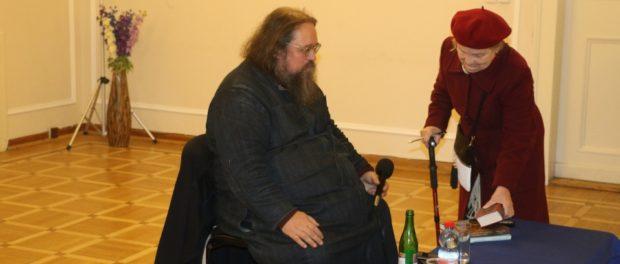 Выступление профессора богословия Андрея Кураева в РЦНК в Праге