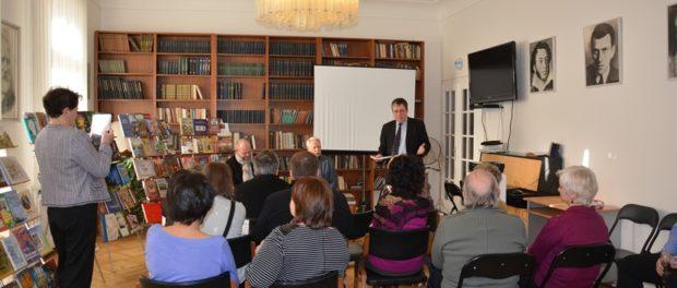 Prezentace knih ruských nakladatelství vRSVK vPraze