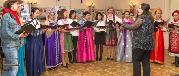 """Vystoupení mezinárodního ženského sboru """"Viva Voce"""" vRSVK vPraze"""