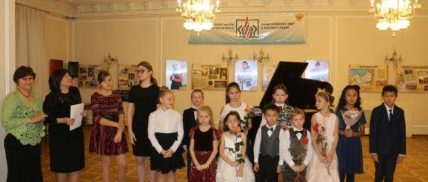 Koncert Dětského hudebního studia vRSVK vPraze