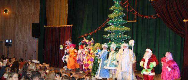 Московская новогодняя елка «Сюрпризы Дедушки Мороза» в РЦНК в Праге