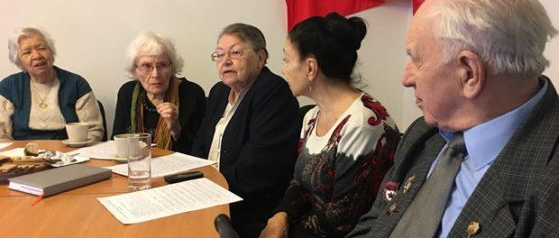 """Čeští blokádníci se zúčastnili konference """"Obrana Leningradu: nové poznatky"""""""
