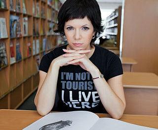 Rozhovor s Annou Matvejevou v Halo novinách