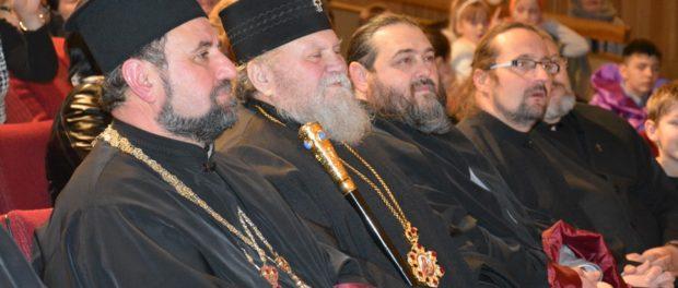 """Pravoslavná vánoční """"jolka"""" (oslava) v RSVK v Praze"""