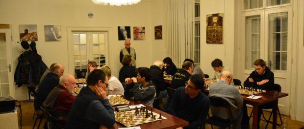 Druhé kolo Šachového mistrovství Prahy družstev proběhlo vRSVK v Praze