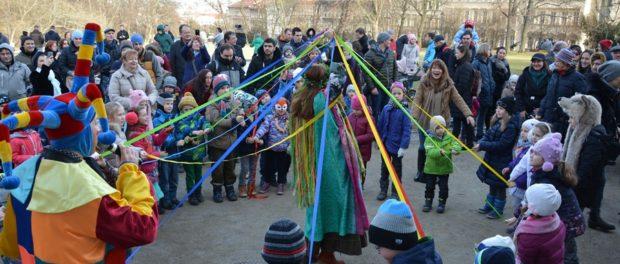 Широкую Масленицу проводили в Праге