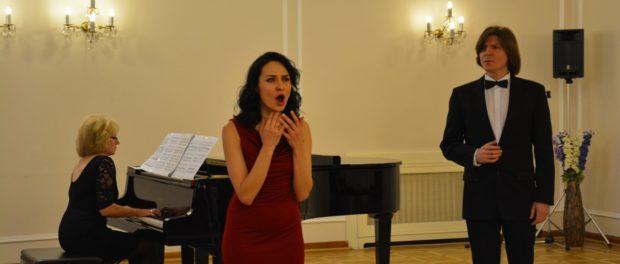 Выступление оперных певцов в РЦНК в Праге