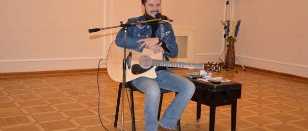 Hudebně-poetický večer Ašota Danieljana v RSVK vPraze