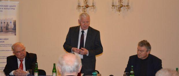 """Kulatý stůl """"Helsinky – evropská bezpečnost včera, dnes a zítra"""" vRSVK vPraze"""