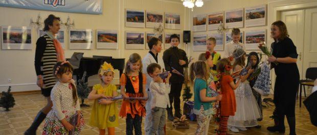 Детский спектакль «Двенадцать месяцев» в РЦНК в Праге