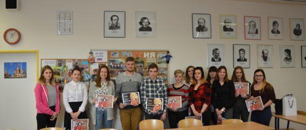 Olympiáda zruského jazyka na Gymnáziu Příbram