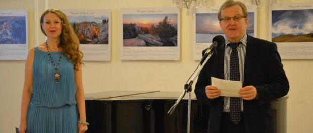 Открытие фотовыставки «Заповедные места» в РЦНК в Праге