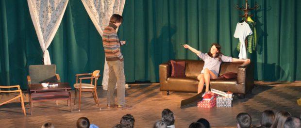 Спектакль «Привычка изменять» в РЦНК в Праге