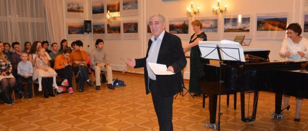 Творческий вечер Михаила Казиника «Тайны гениев» в РЦНК в Праге