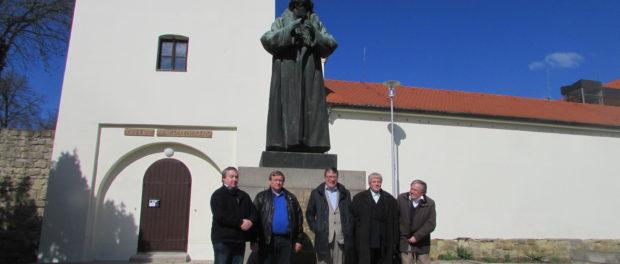 100 лет русской революции отметили в чешском городе Угерский Брод