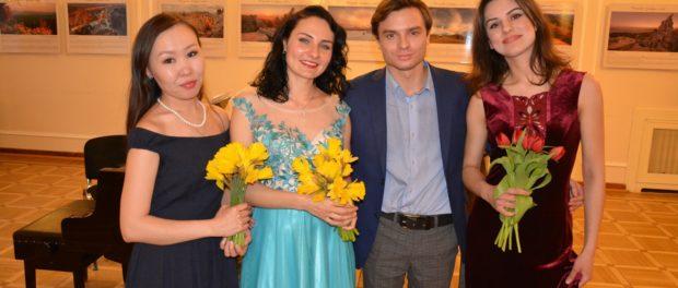 Концерт молодых оперных исполнителей «Весенние голоса» в РЦНК в Праге