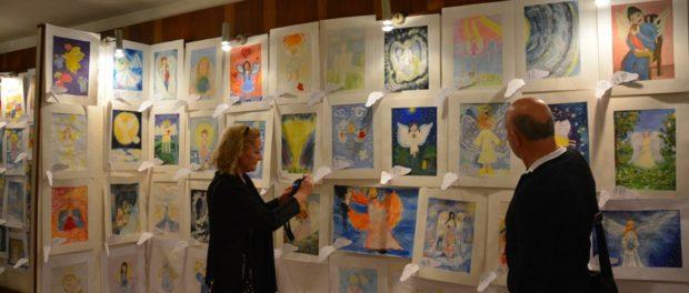 Международная выставка детских рисунков «Ангелы Мира» в РЦНК в Праге