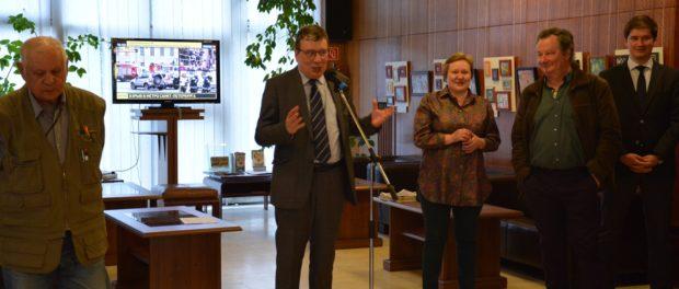 Открытие выставки «Мир миниатюры в эмали» в РЦНК в Праге