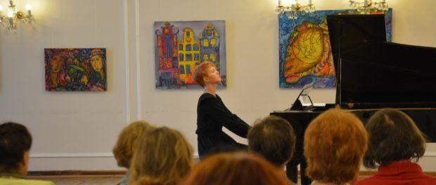 Koncert petrohradské klavíristky Angeliny Ruď v RSVK v Praze