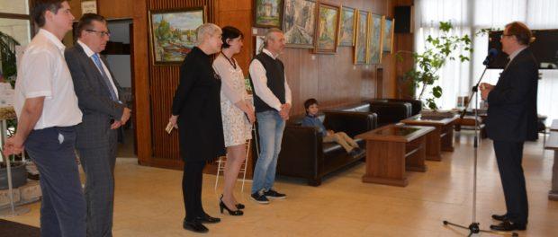 Открытие художественной выставки «Город в стиле импрессионизма» в РЦНК в Праге