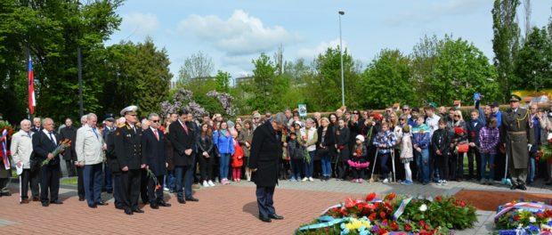 Празднование Великой Победы в Чехии