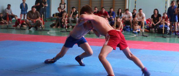 Юбилейный турнир по самбо в российской школе в Праге