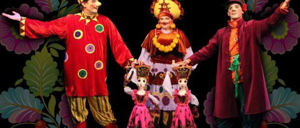 Премьера кукольного спектакля «Калинка-Малинка» в Праге