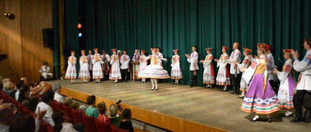 Белорусский государственный хореографический ансамбль «Хорошки» выступил в РЦНК в Праге