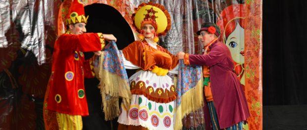 Кукольный спектакль «Калинка-Малинка» в РЦНК в Праге