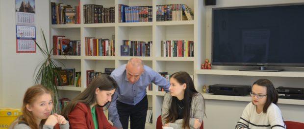 Встреча преподавателей русистов в Западно-чешском университете города Пльзень