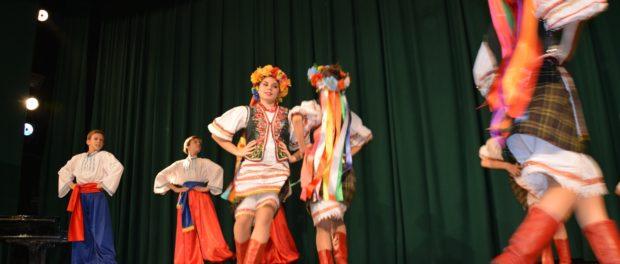 Концерт детского ансамбля народного танца «Юность» в РЦНК в Праге