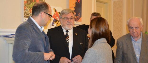 Čeští absolventi ruských (sovětských) vysokých škol oslavili 100. výročí Ruské revoluce v RSVK v Praze